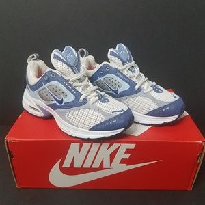 Nike Air Max Moto IV 312741-141 Blue/White Size 5